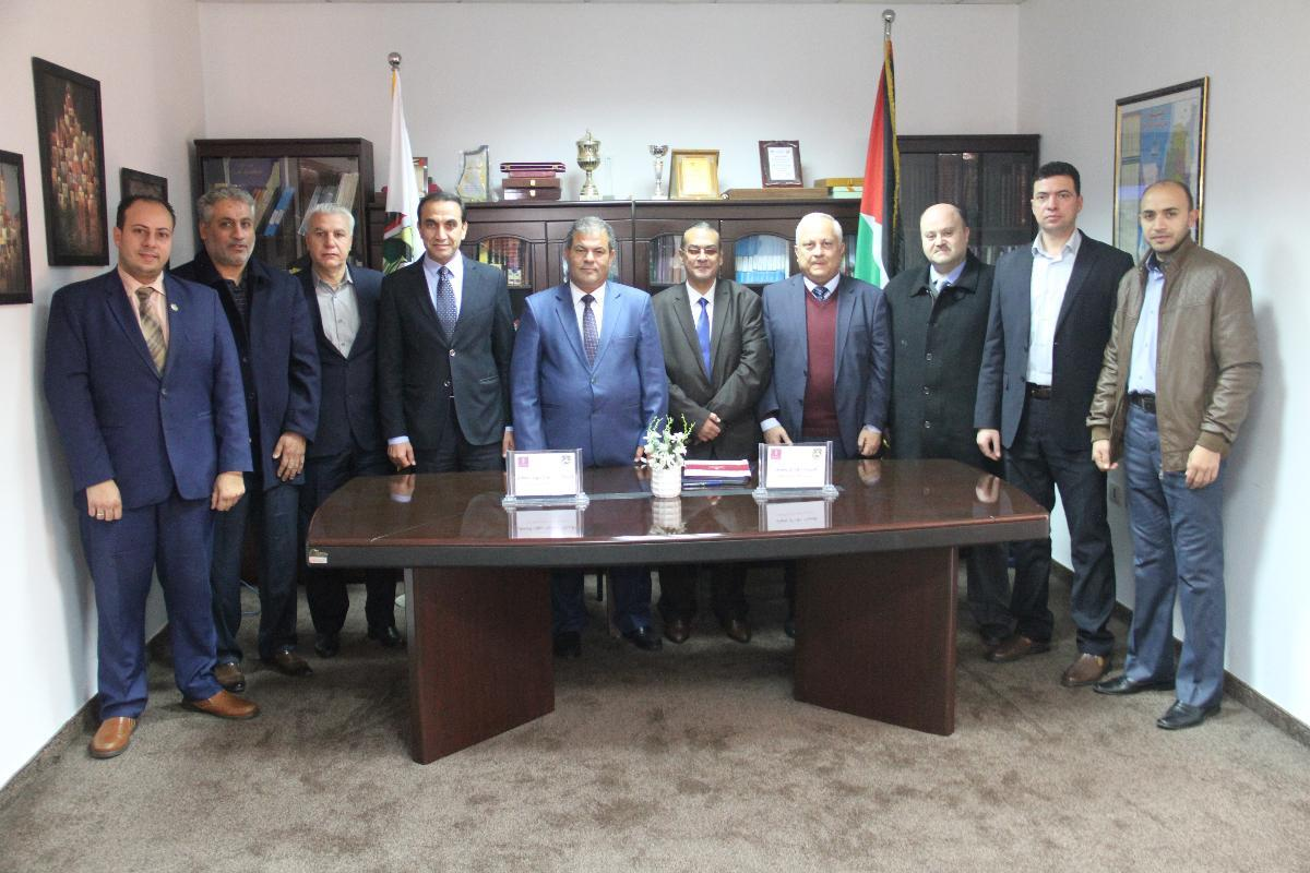 QOU and Bank of Palestine Sign a Memorandum of Understanding
